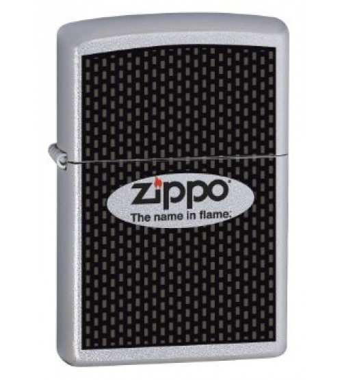 The Name in Flame Zippo