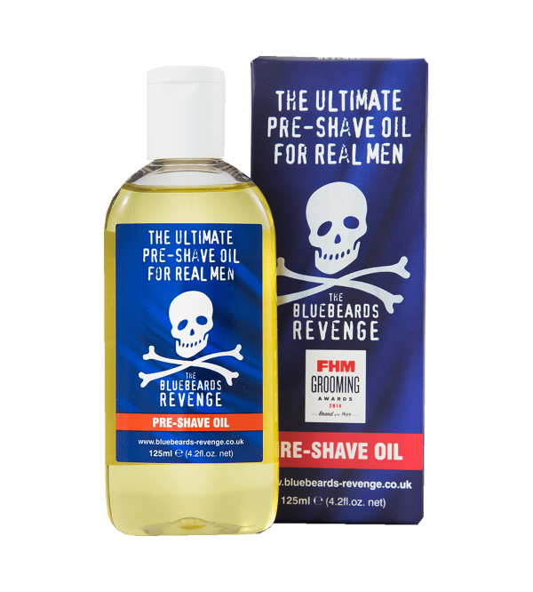 Blue beards Shaving and beard oil