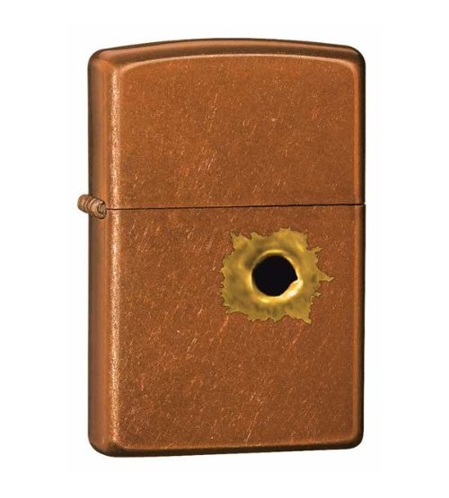 Bullet Hole Toffee Zippo