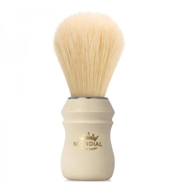 Mondial luxury Boar Hair Shave Brush