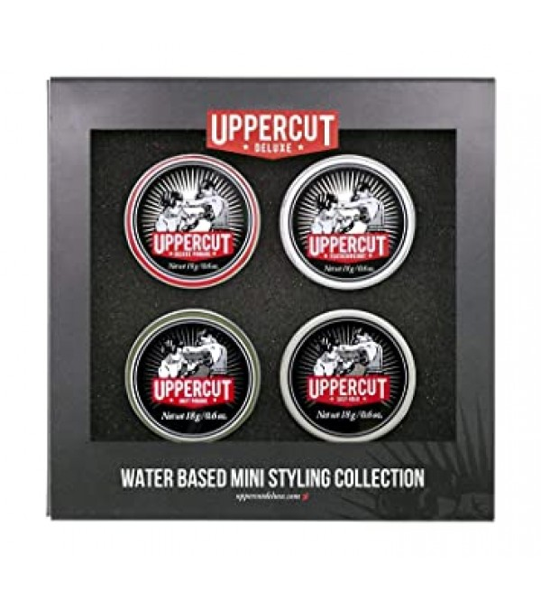 Uppercut clay pack of 4 travel size